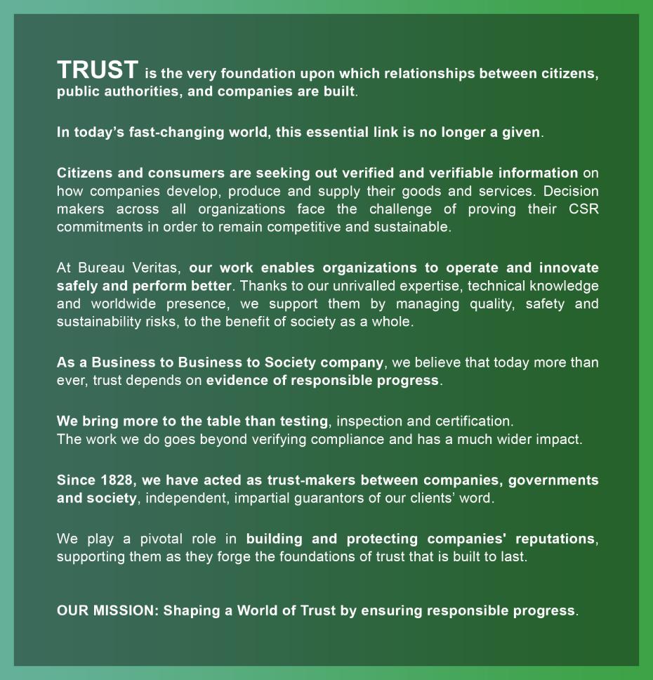 Bureau Veritas Manifesto EN